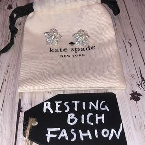 ♠️KATE SPADE♠️ flower earrings NWOT